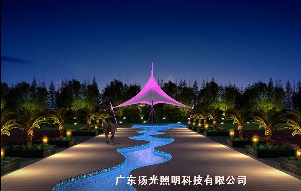 园林夜景照明设计 - 广东扬光照明科技有限公司
