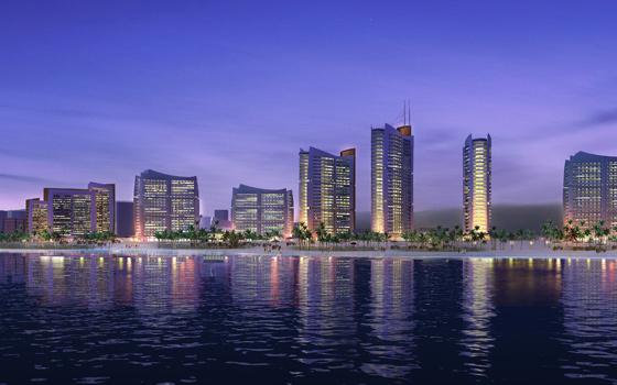 中标金融街控股集团红树湾畔亮化工程   继中标恒大地产潮州恒大城